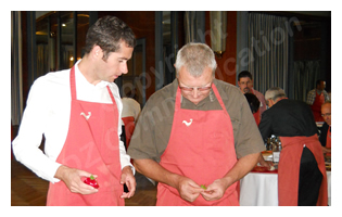 FLOTTWEG - Défi cuisine au Coq Gadby à Rennes - Septembre 2012 - mini